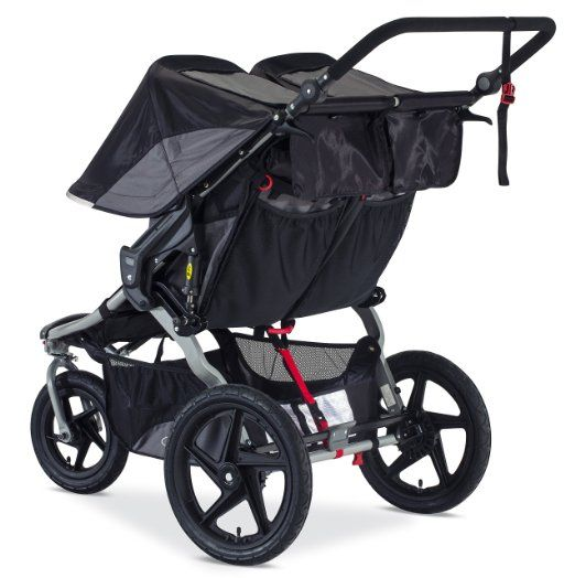 BOB 2016 Revolution FLEX Duallie Stroller - Best Double Jogging Stroller - material
