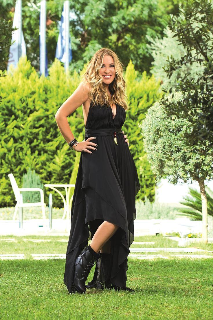The beloved famous TV presenter-radio producer Natalia Germanou as featured in YOU Magazine-Greece at Civitel Attik!  #AttikAthens