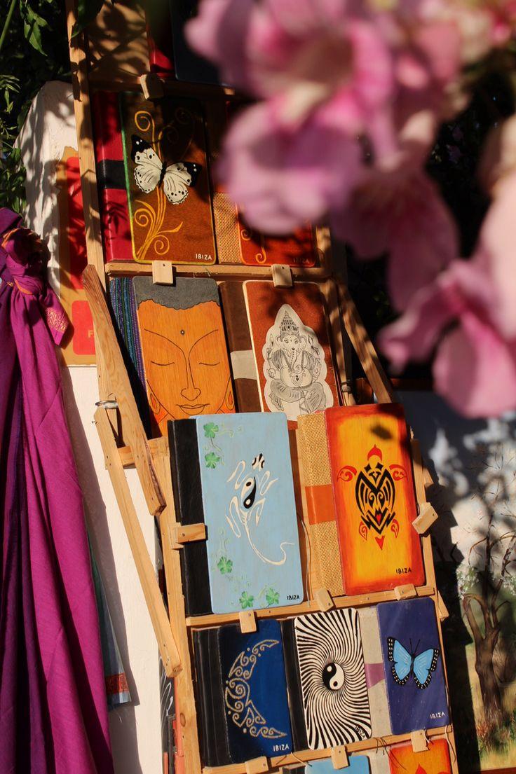 Beautiful colors @ hippie market Ibiza