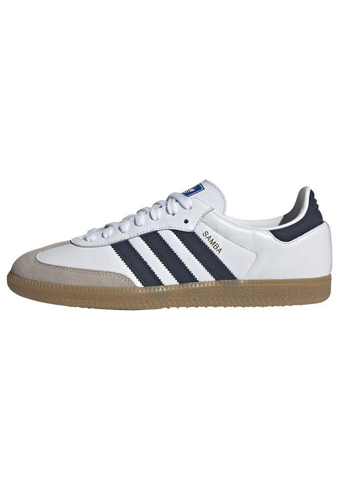 ADIDAS ORIGINALS Sneaker Herren, Navy Taupe Weiß, Größe