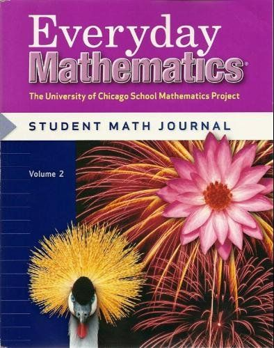 Worksheets Everyday Mathematics Worksheets 25 best ideas about everyday mathematics on pinterest math grade 4 student journal volume 2 by max bell 14 08