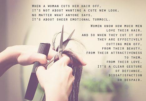 Women! Do Not Cut Your Hair. Men Will Not Love You 2