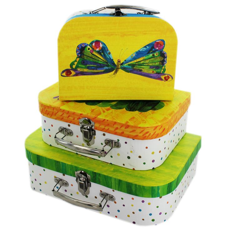 Buy The Hungry Caterpillar Storage Suitcases - Set Of 3  online from The Works. Visit now to browse our huge range of products at great prices.