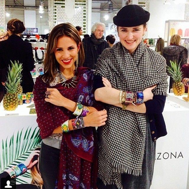 @Ana Sarmiento with Princess Shakka wearing the new Amazona Code collection at @premiumberlin @FLOR AMAZONA #premium #berlin #germany #love #j...
