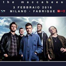The Maccabees il quintetto originario di Londra , arriva, a distanza di quasi tre anni, in Italia per una unica data evento. Acquista il tuo biglietto su TicketOne.it!