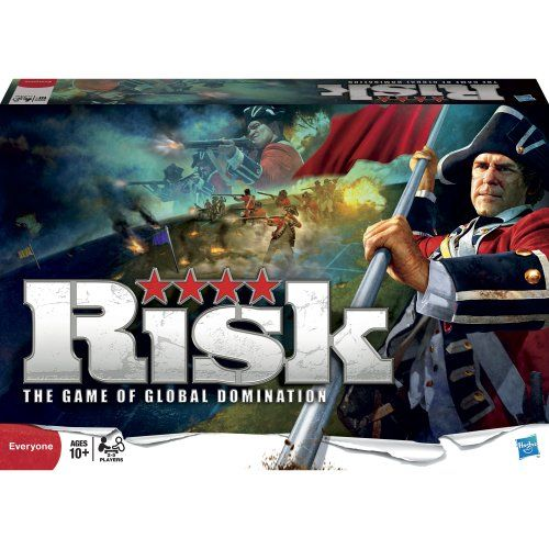 Risk! is one of the best strategy games out there!