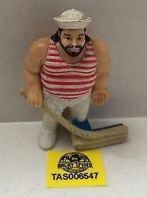 (TAS006547) - WWE WWF WCW nWo Wrestling PVC Hockey Player Figure - Tugboat