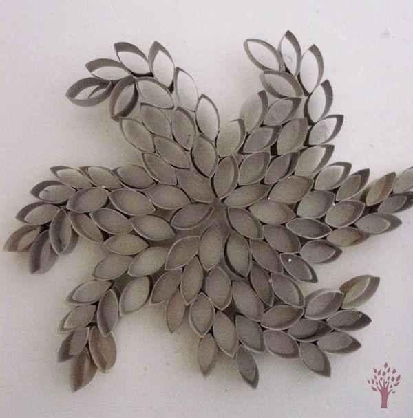 DIY créer sa fleur de papier toilette