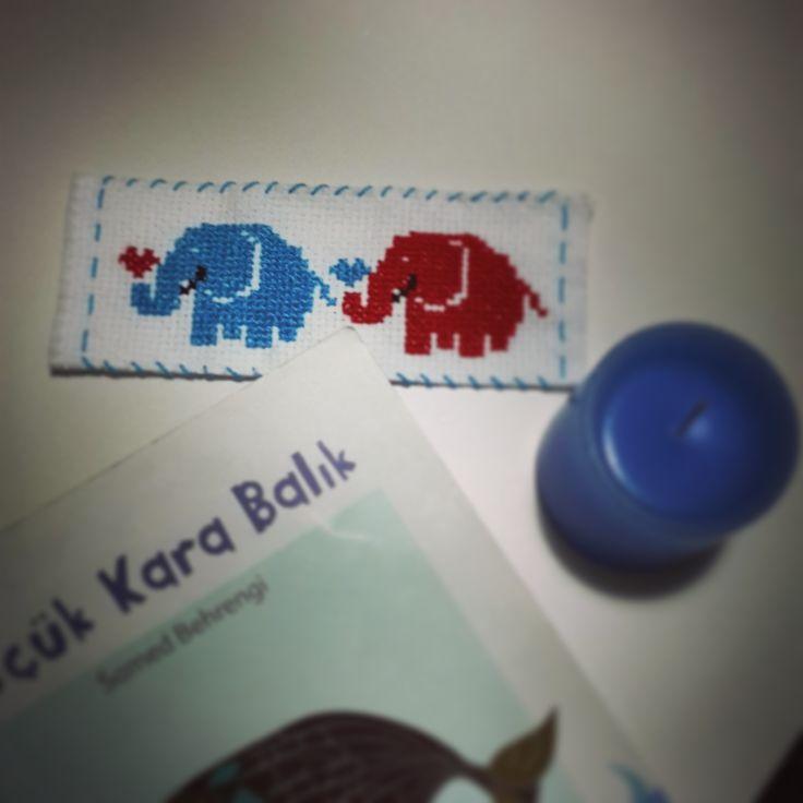 mavi ve kırmızı filler ^.^