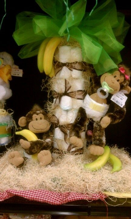 Monkey Themed Babyshower   Time for the Holidays