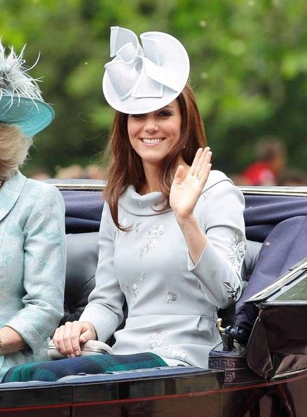 Kate Middleton - Soldiers at the 'Trooping the Colours Ceremony' at Buckingham Palace in London in celebration of the Queen's birthday