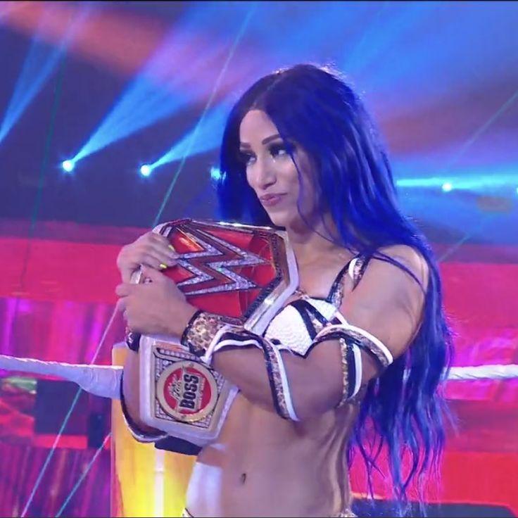 Raw Women Champion Sasha Banks | Raw womens champion, Wwe