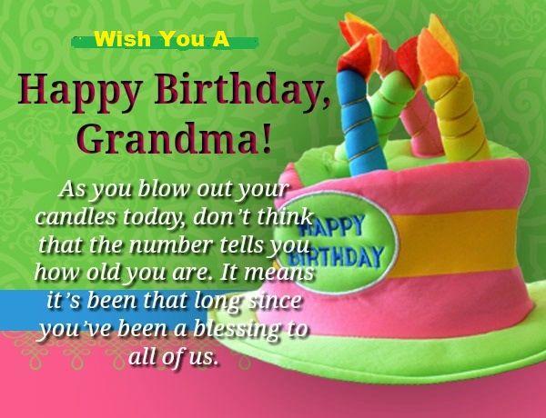 Latest Happy Birthday Wishes For Grandma Granny Or Grandmother