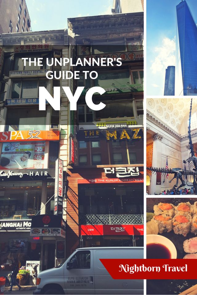 The Un-Planner's Guide To: New York City (Day 2) – Nightborn Travel  Feel like visiting the Big Apple but aren't much of a planner? Check out some of our suggestions for the city, and go exploring.