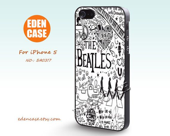 The Beatles iPhone 5 Case. #iwantthis