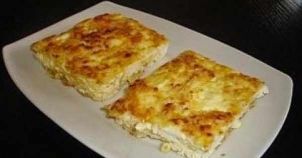 Υγεία - Μια συνταγή για μια νόστιμη και πολύ γρήγορη τυρόπιτα χωρίς φύλλο έτοιμη σε 10 λεπτά με 2 κινήσεις για το φούρνο για σνακ ή συνοδευτικό με τα ψητά μας. Υλι
