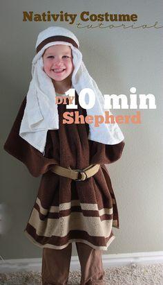 shepherd nativity costume