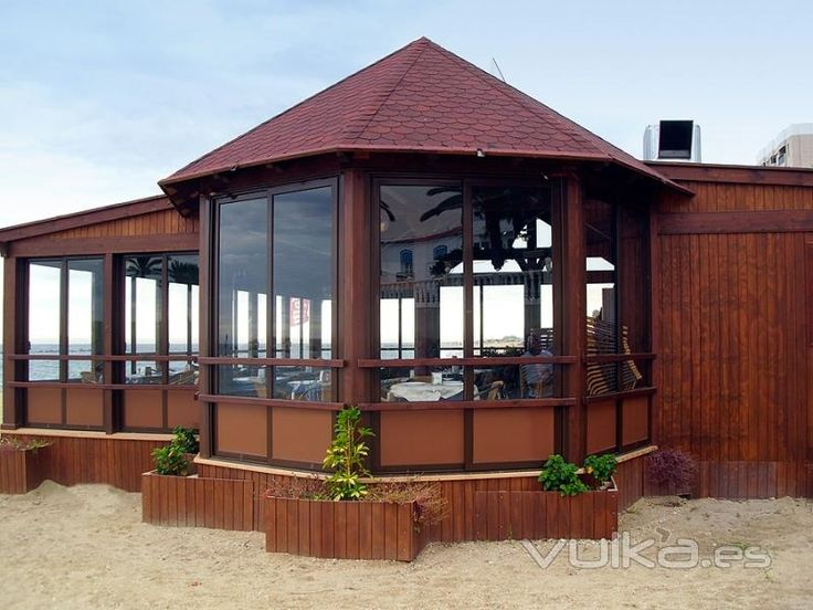 Kiosco de madera para jardin buscar con google kiosko - Maderas para jardin ...