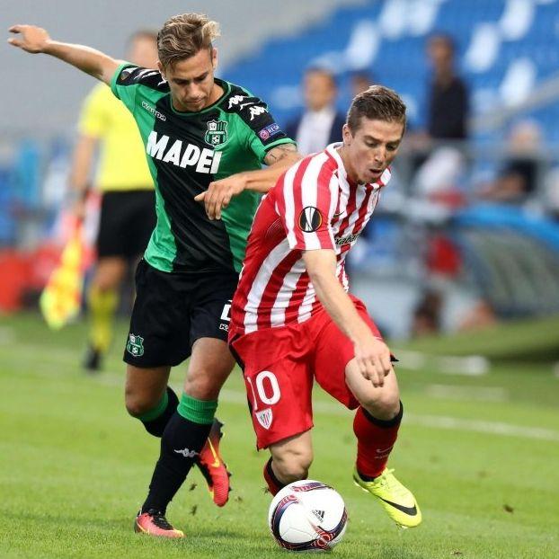 Federico #Ricci #Sassuolo contro Iker #Muniain #AtlBilbao