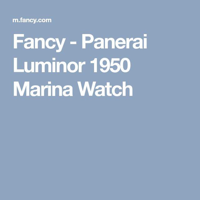 Fancy - Panerai Luminor 1950 Marina Watch