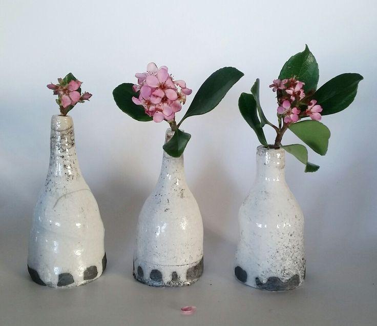 Raku Fired Ceramic Vases https://www.etsy.com/nz/shop/KatieJenssenCeramics
