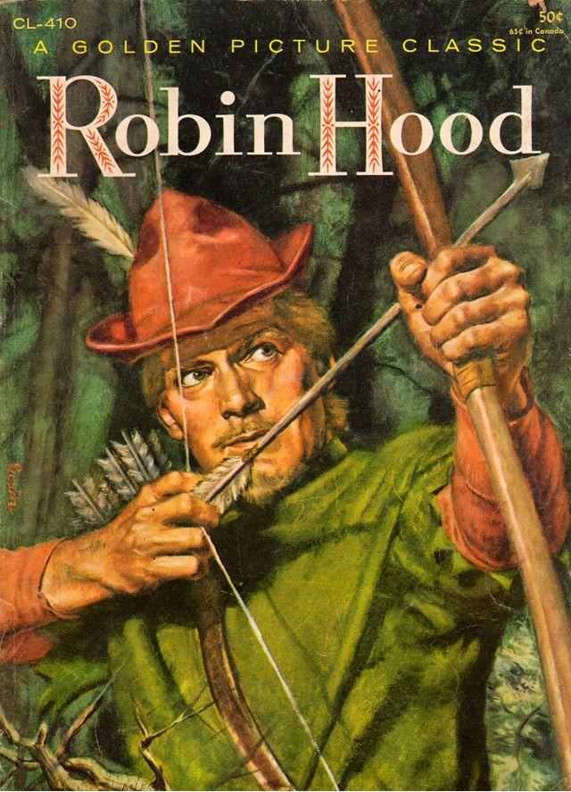 in the shop  robin hood robin hood books