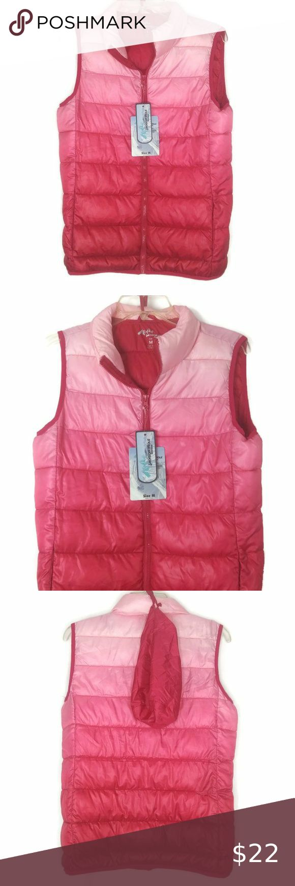 Jackson Hole Pink Ombre Puffer Vest Pink Ombre Jackson Hole Puffer Vest [ 1740 x 580 Pixel ]