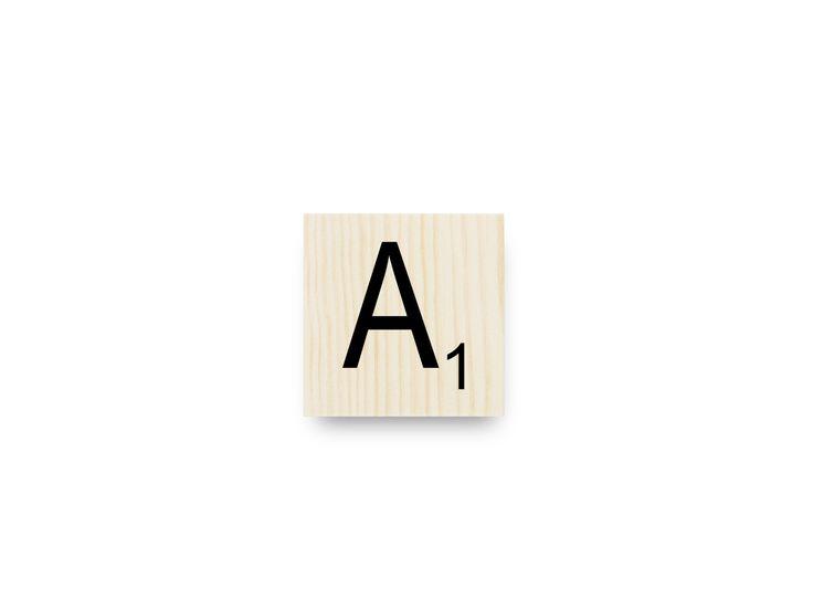 M s de 25 ideas nicas sobre letras de scrabble en - Letras scrabble pared ...