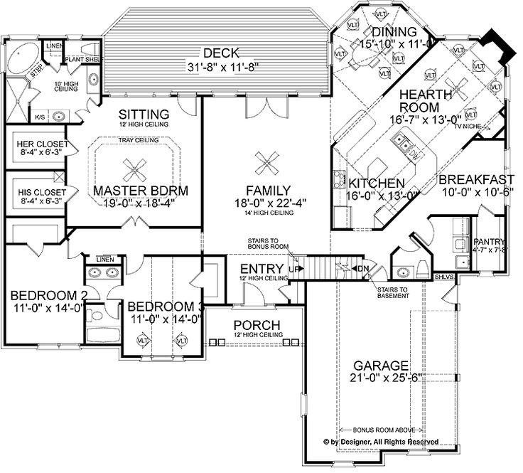 Hearth Room I Like Pinterest House Plans Master