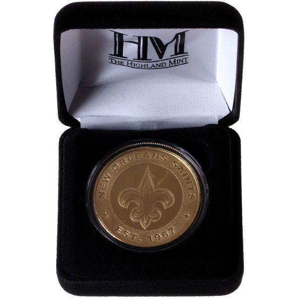 New Orleans Saints Highland Mint Game Coin - - $34.99