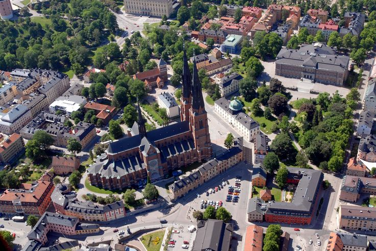 Uppsala, a day trip destination from Stockholm