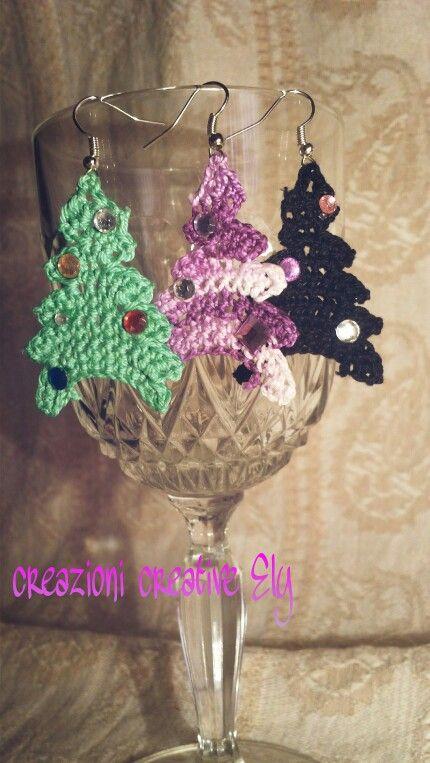 Alberi di Natale uncinetto