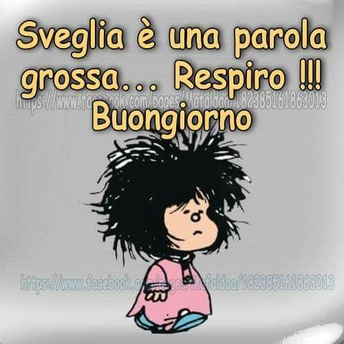 Mafalda - sveglia è una parola ....