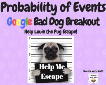 What is the probability? – Bad Dog Breakout for Google Classroom