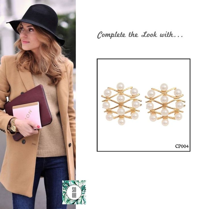Ref: CP004 Medidas: 2 cm x 2 cm So Oh: 5.99#sooh_store #onlinestore #brincos #earrings #fashion #shoponline #inspiration #styleinspiration #aw2016 #aw1617 #winter #style