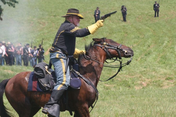 Image result for civil war reenactment neshaminy state park