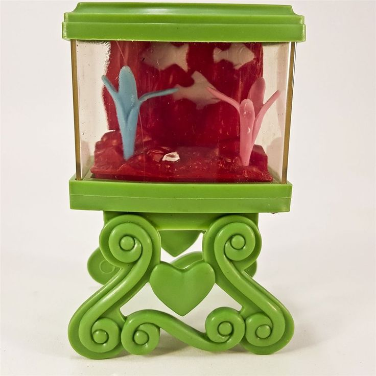 "Fashion Doll House 3.5"" Plastic Fish Tank Mini Decor Furniture Teanda Industrial"