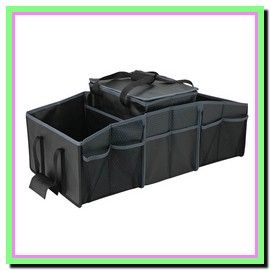 Boot Organizer with Cooler Bag