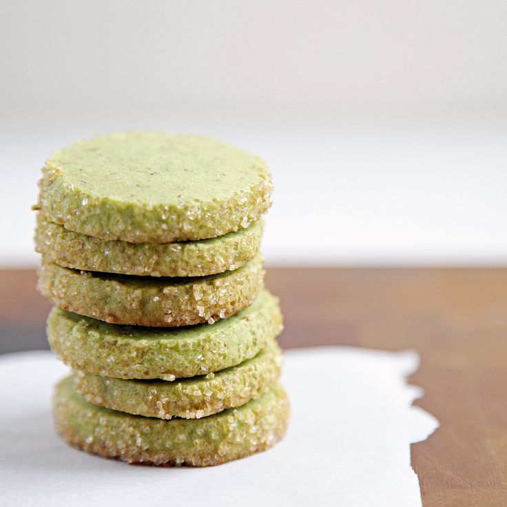 Matcha Almond Shortbread: great recipe! I used ghee in replace of reg ...