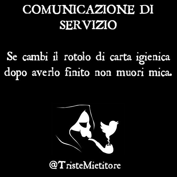 Comunicazione di servizio