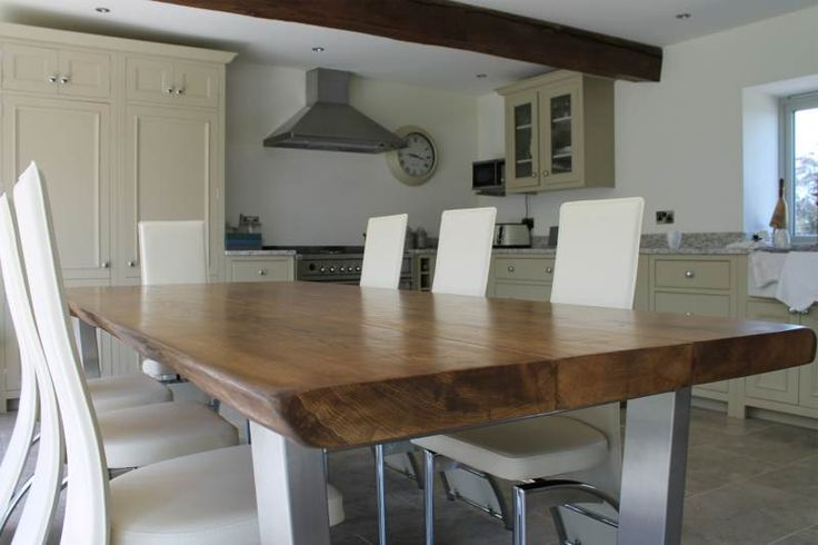 Large Oak Dining Table | TarzanTables.co.uk