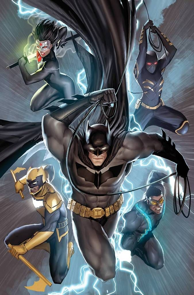 Batman And The Outsiders 1 Stejpan Sejic Variant 05 08 19 Foc 04 15 19 Batman Poster Batman Batman Comics