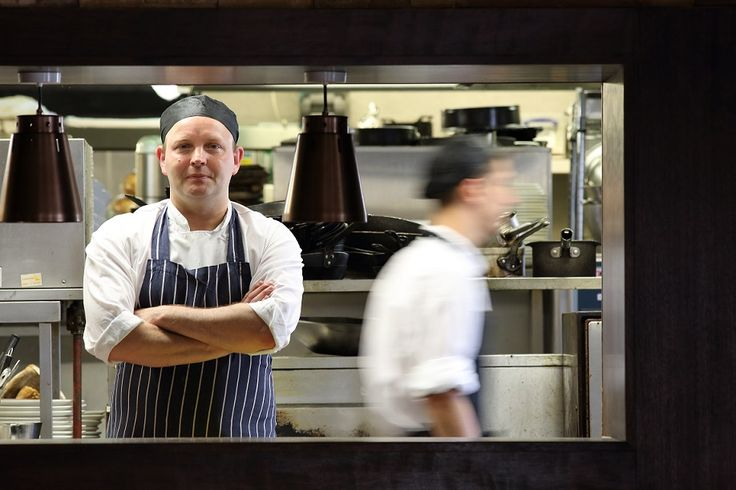 The Blue Boar's head chef serves up superb food every day