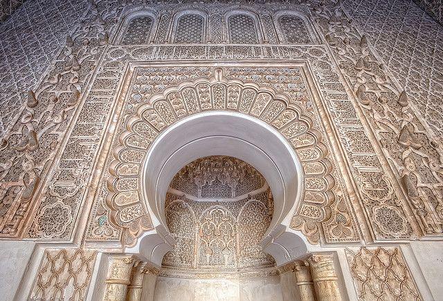 海外旅行世界遺産 ベン・ユーセフ・マドラサ(神学校) マラケシュ旧市街の絶景写真画像ランキング モロッコ