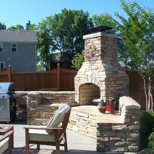 The 25+ best Outdoor fireplace kits ideas on Pinterest | Diy ...