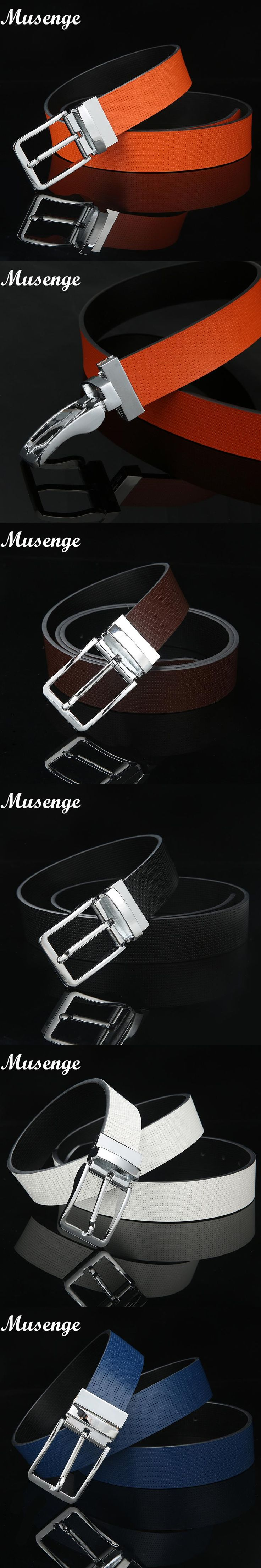 Men's Belts Genuine Leather Luxury Pin Buckle Mens Brand Jean Belt Fashion Belts For Men 2015 Cinturon Heren Riem Kemer Erkek