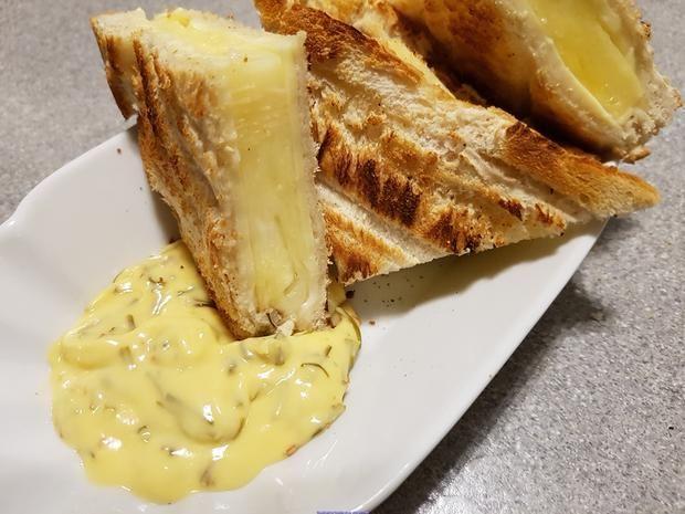 Rezept: Sandwich = Toast à la Hawai  (schnelle Variante) Bild Nr. 5283