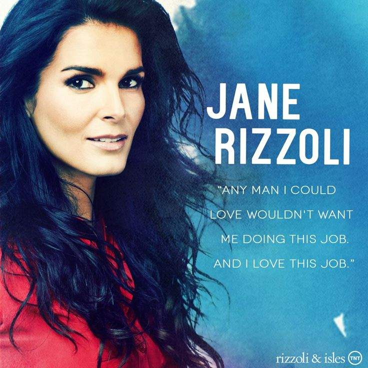 Rizzoli&Isles Page Liked · August 13 ·    Five seasons later and Jane's true love is still her work. #TBT #RizzoliandIsles