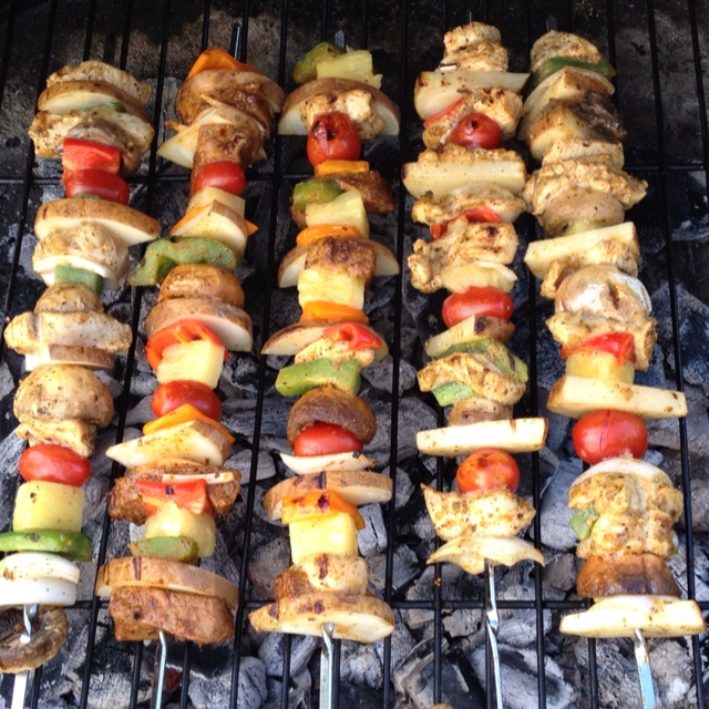 recipe: easy steak and shrimp kabobs [35]