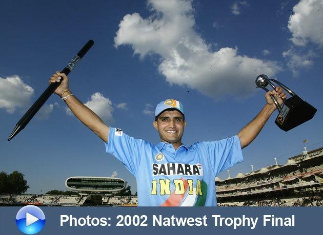 Natwest Series final 2002 Eng vs Ind